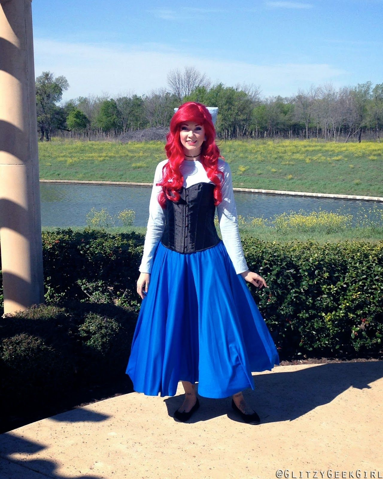 Glitzy Geek Girl Tutorial Little Mermaid Ariel