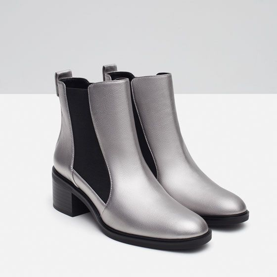 Image 5 of ELASTICATED HIGH HEEL ANKLE boats from from from Zara Walk In My 80075f