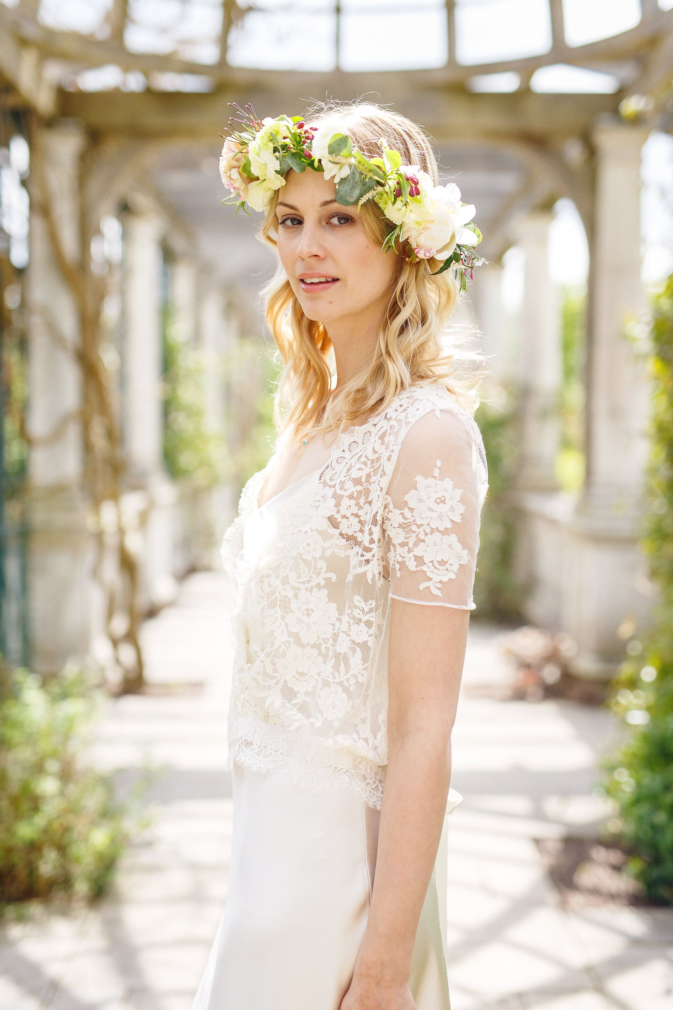 Lace boho wedding dress Designer wedding dresses, Boho