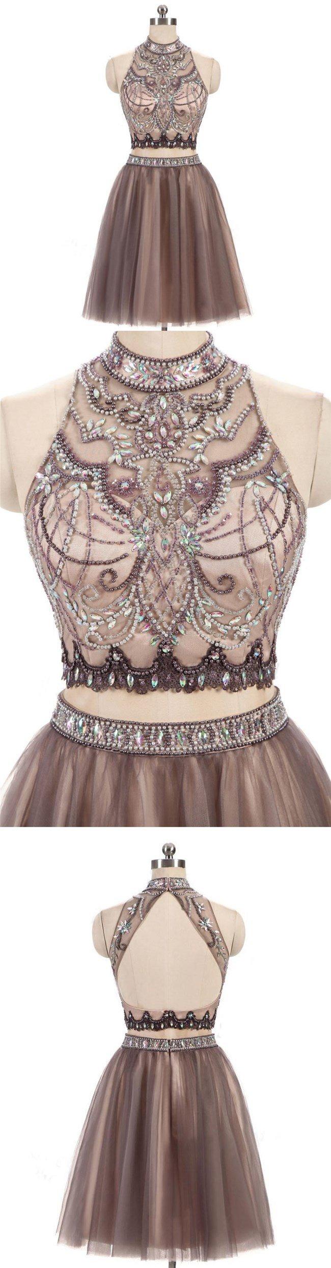 Tulle bateau neckline ball gown wedding dresswhite lace bead bridal