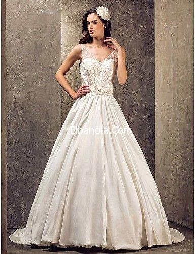 فساتين زفاف 2014 موديلات فساتين بيضاء للعرائس فساتين اعراس ناعمة فساتين زفاف أزياء بنوته Queen Wedding Dress Wedding Dress Train Stunning Wedding Dresses