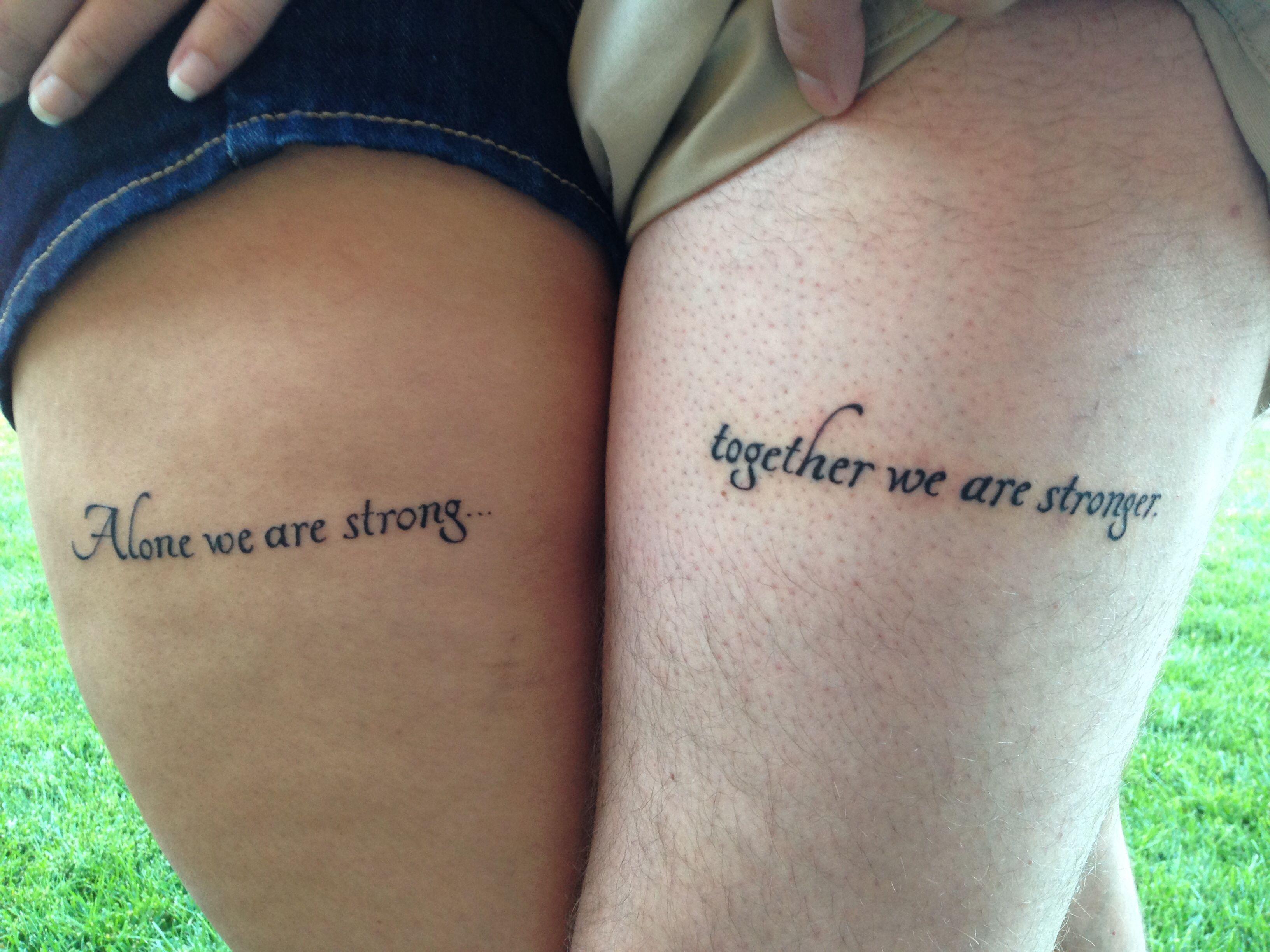 couples tattoo art tattered torn pinterest