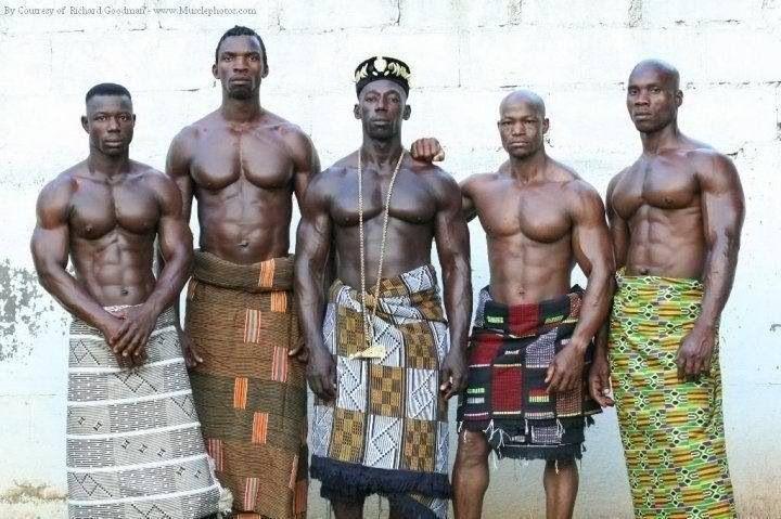 Proud African Warriors