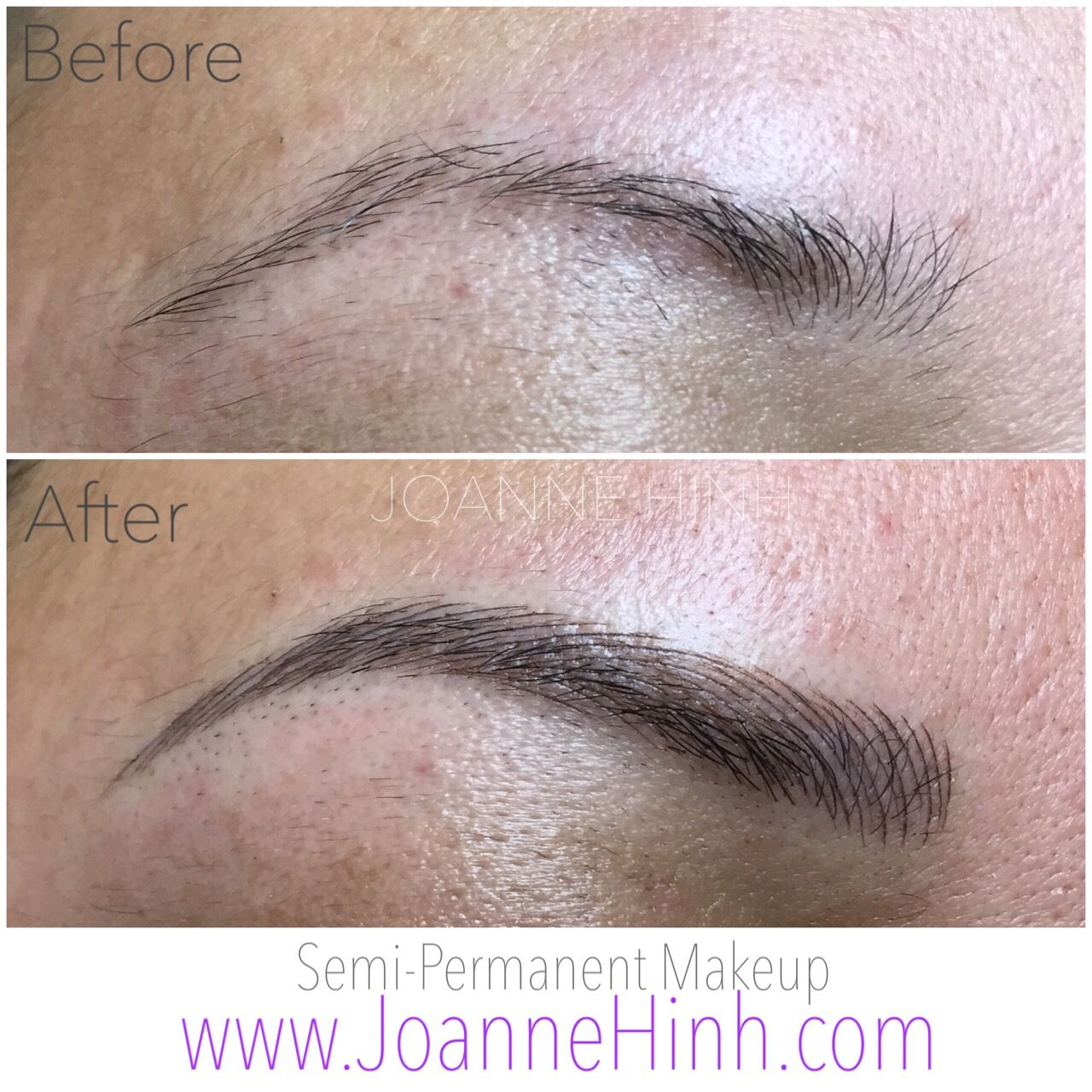 Hairstroke Eyebrow Embroidery by Joanne Hinh. Brow embroidery. 3D ...