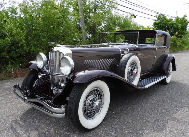 1930 Duesenberg J Town Car Maintenance Restoration Of Old Vintage