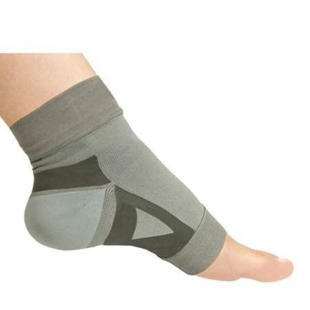 2458d0c296 Unisex Bamboo Charcoal Fiber Compression Foot Sleeve For Plantar Fasciitis  Pain Relief, Gray