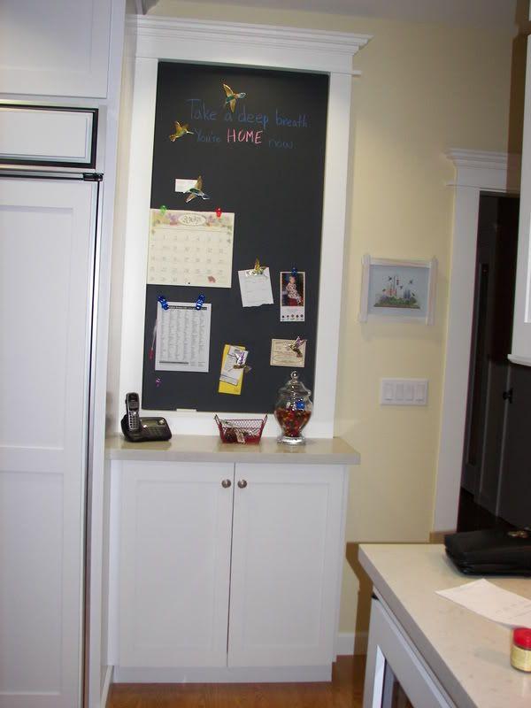 Beau Message Center For Kitchen Design Ideas