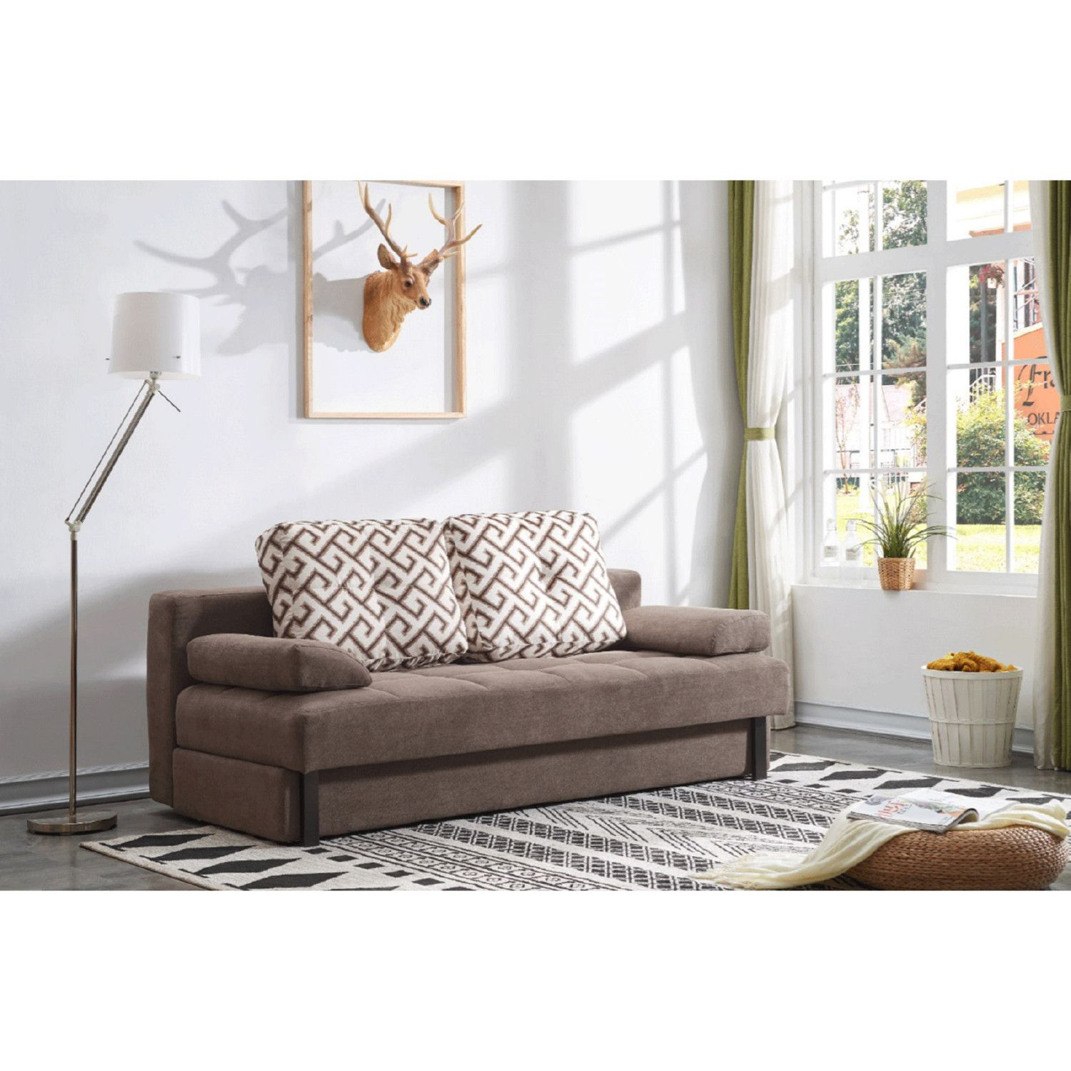 Tremendous Esf Imports 98 Sofa Bed Dark Brown Fabric In 2019 Products Unemploymentrelief Wooden Chair Designs For Living Room Unemploymentrelieforg