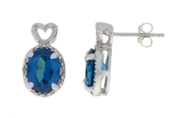 14Kt Yellow Gold Plated Natural Blue Mystic Topaz Heart Bezel Bangle Bracelet Bridesmaid Bridal Wedding Jewelry Dainty Fashion