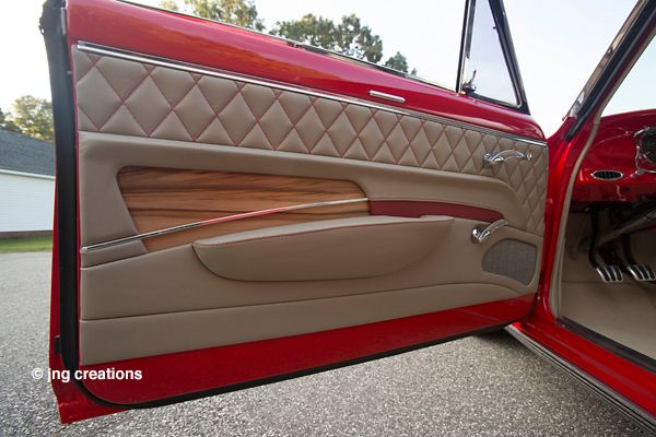 1963 Chevy Nova Ll With A Custom Interior Custom Car Interior Chevy Nova Car Interior Upholstery