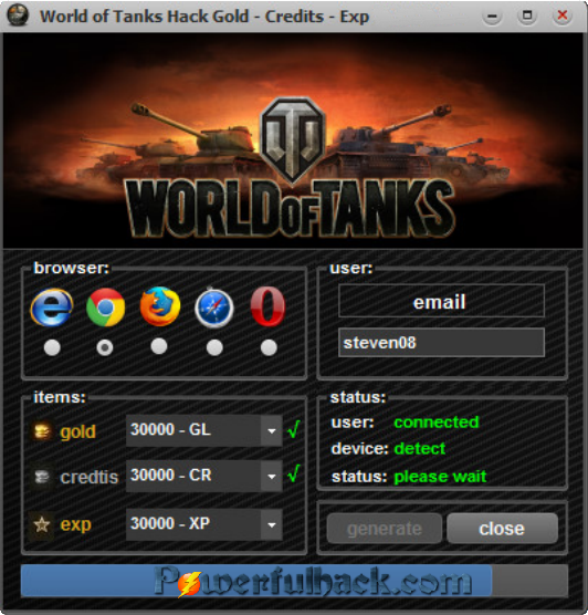 World of tanks hack tool gold generator 2017 no survey free.