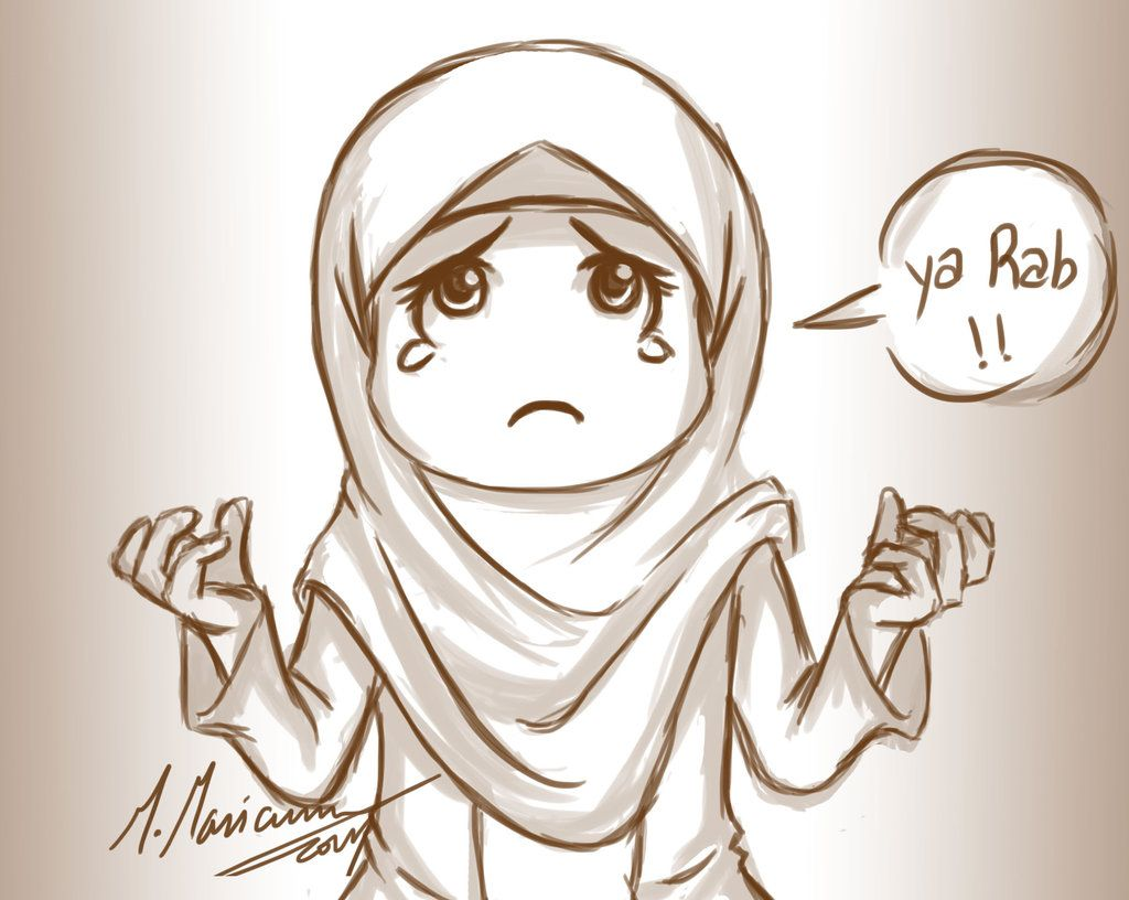 ya allah hijab cartoonanime