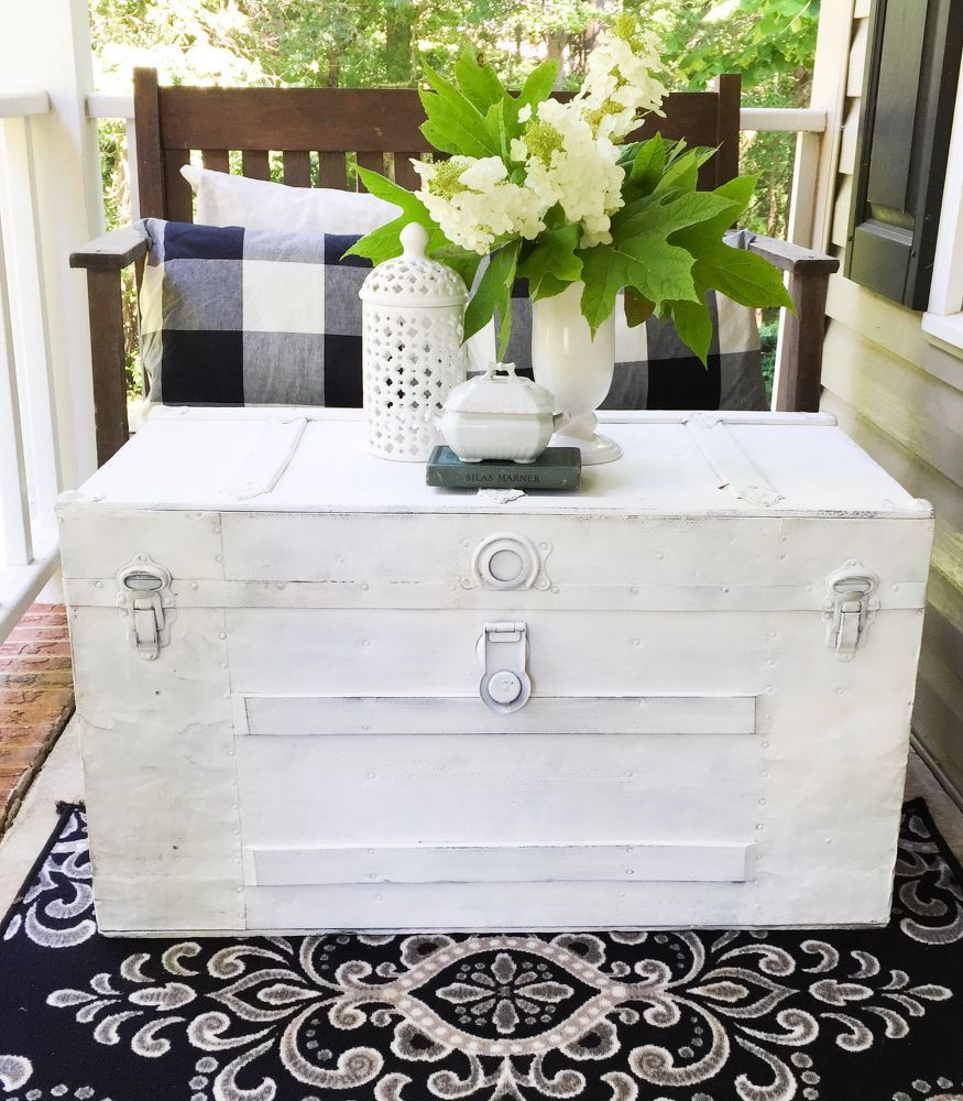 Stinky Trunk To Cool Coffee Table | Jardines y Artesanía