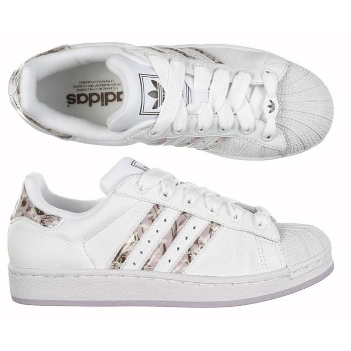 check out db0a3 66a0b BASKET ADIDAS Chaussure Superstar II Femme