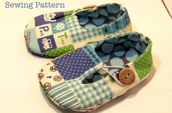 Jack and  Jill Loafers Baby Shoes PDF PATTERN-- 5 different sizes. $4.50, via Etsy.