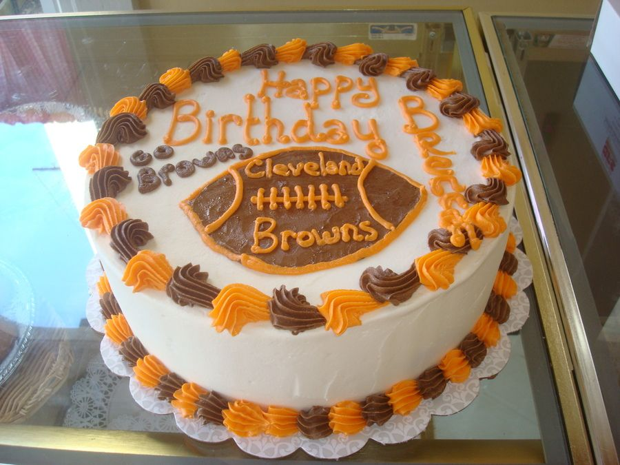 Cleveland Browns Cakes Images Google Search With Images Cake