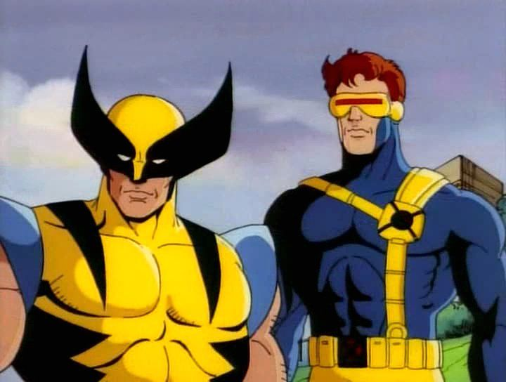 The X Men Hombres X Caricaturas Viejas Marvel