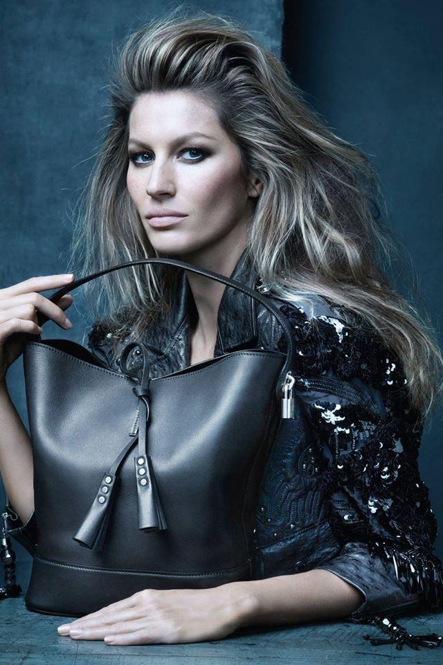Marc Jacobs last campaign for Louis Vuitton (Spring Summer 2014) featuring Gisele Bundchen
