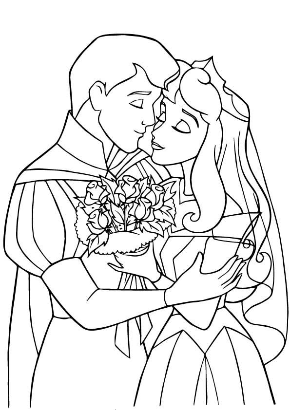 Wedding Picks Sleeping Beauty Coloring Pages Princess Coloring Pages Disney Princess Coloring Pages