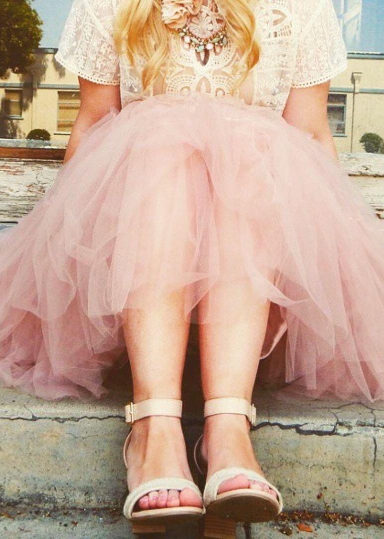 a8ced1ced6 Tulle Skirt, Tutu Skirt, Soft Skirt, Bridal Skirt, Gray Pink, Handmade Skirt,  Fashion Skirt