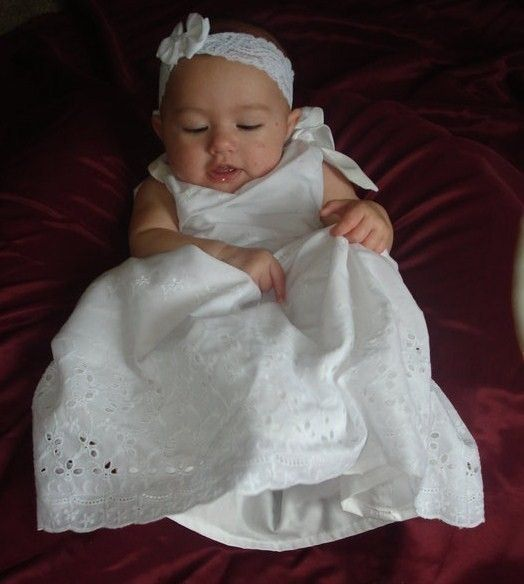 Christening Gown Baptism Dress