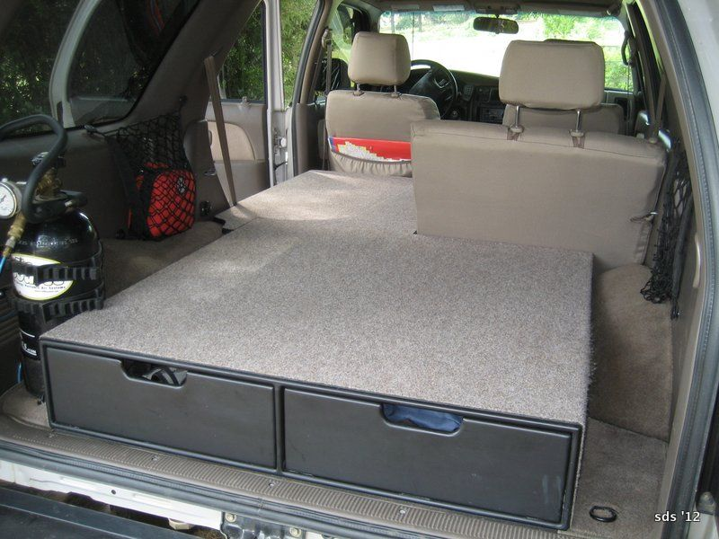 99 4runner Bed Projects Google Search Storage Area