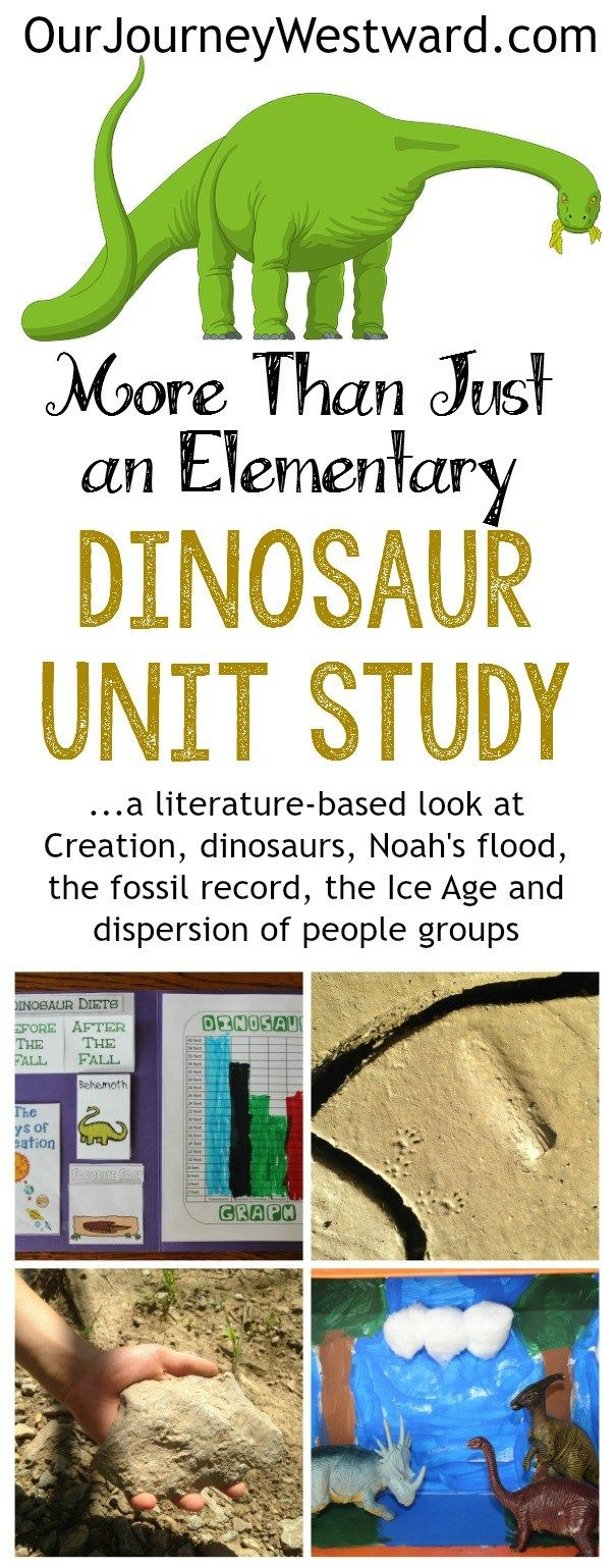 The best science & history unit study of the year - hands-down!  Dinosaurs + so much more. #sciencehistory