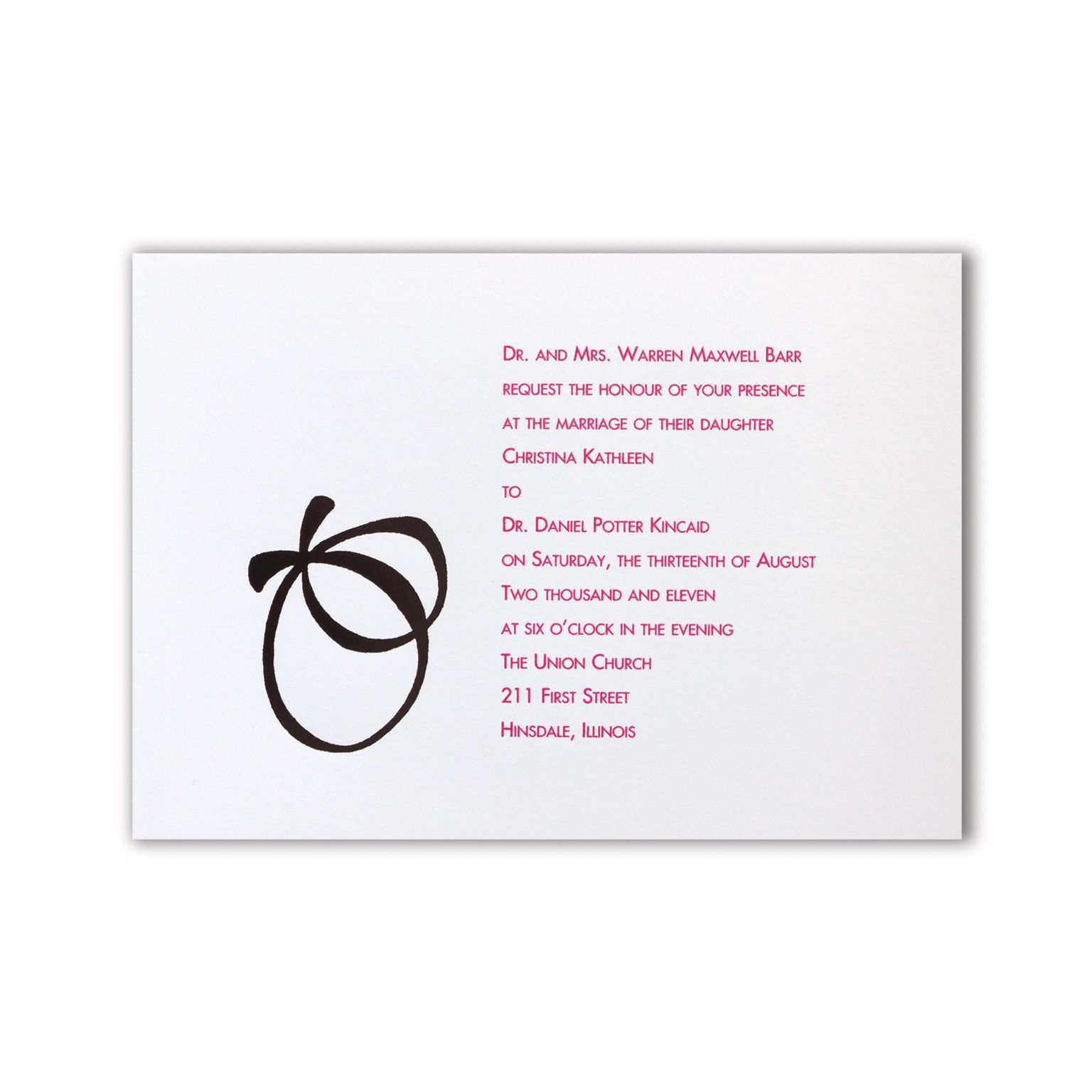 With this Ring Wedding Invitations #wedding #invitations | Modern ...