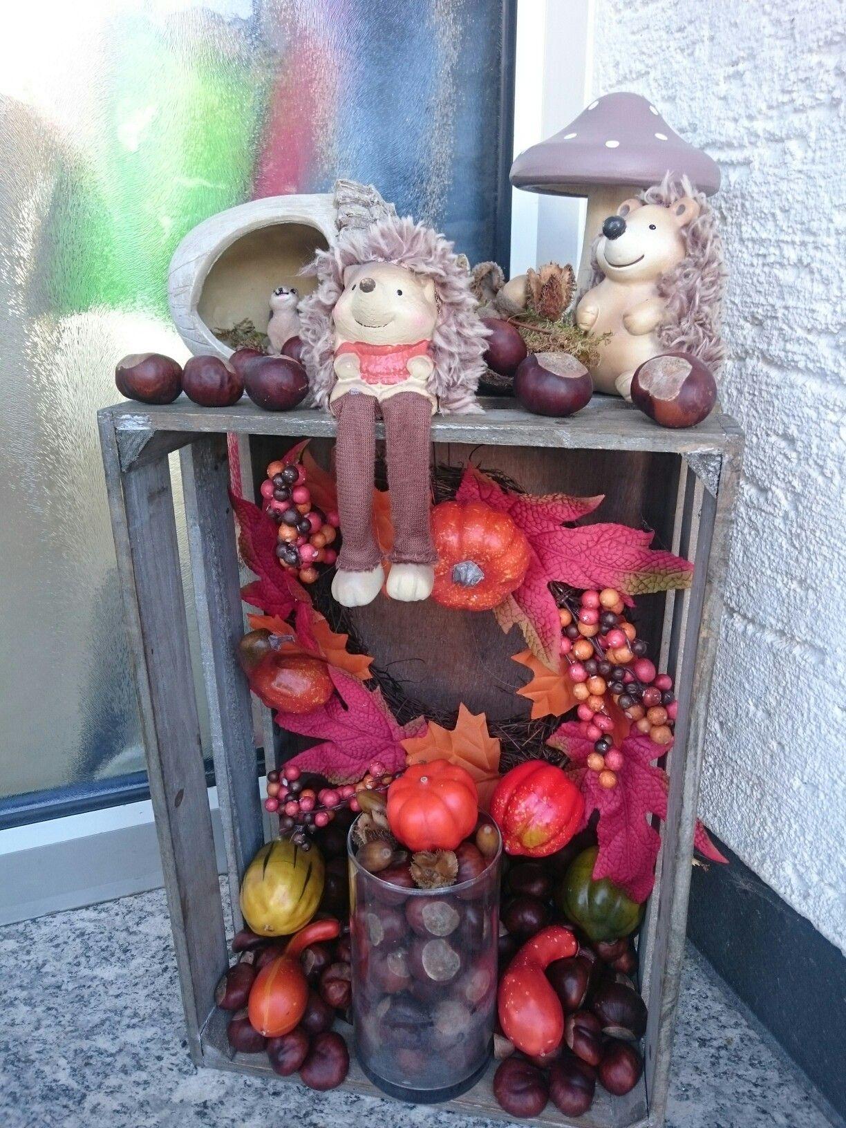 Meine Herbstdeko #herbstdekoeingangsbereich