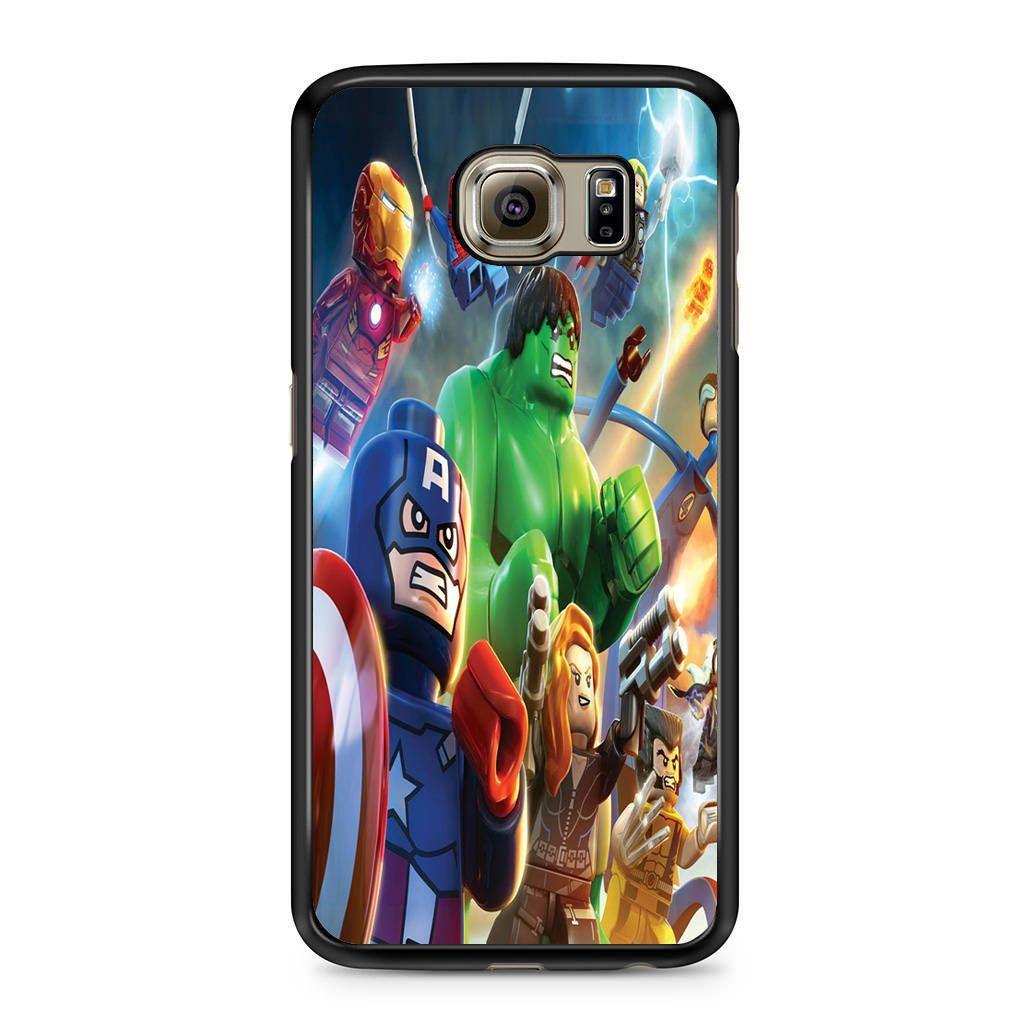 Marvel Superhero Lego Samsung Galaxy S6 Case