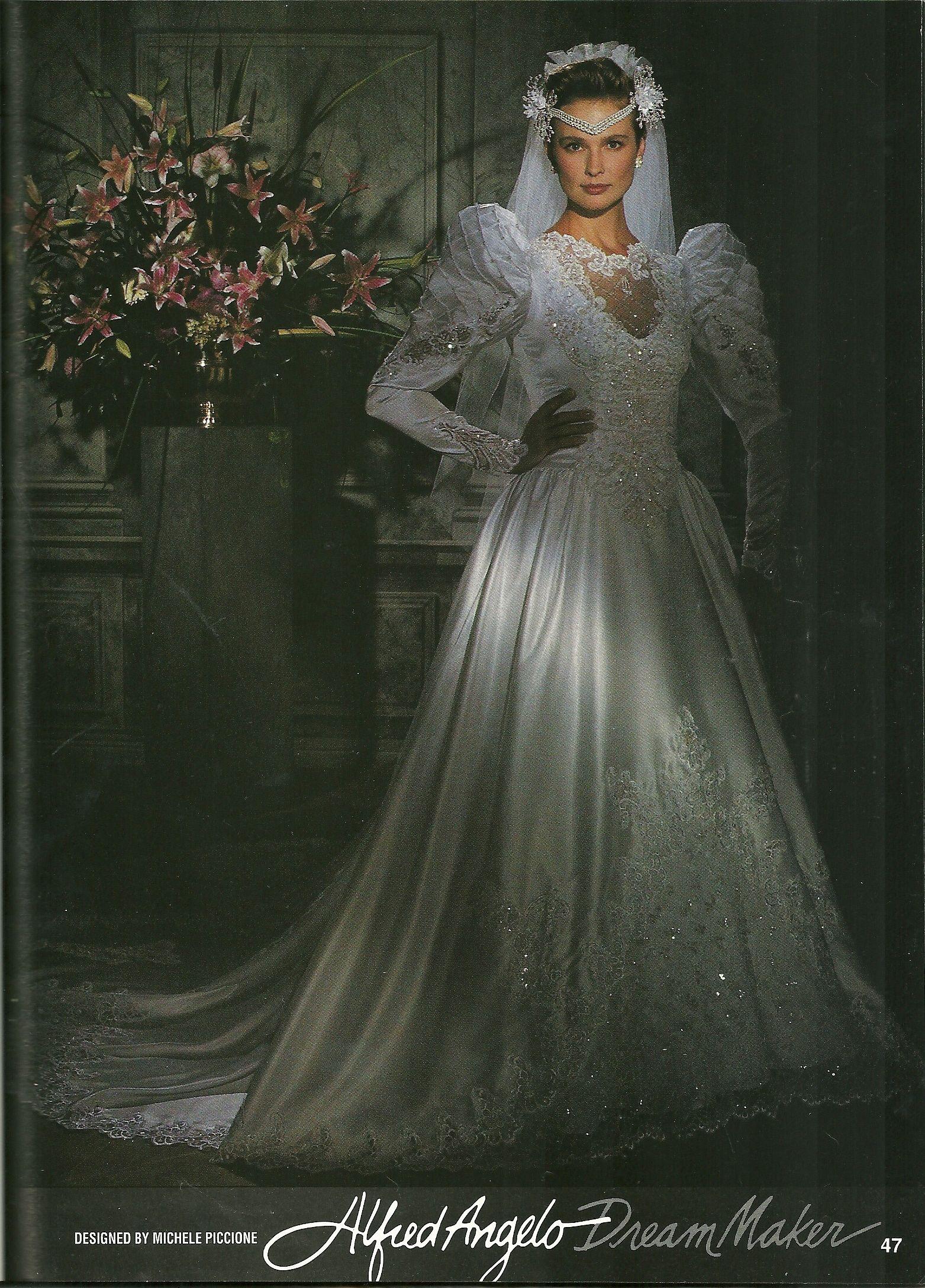 Alfred Angelo Dream Maker Spring Of 1992 Gorgeous Wedding Dress Dresses Bridal