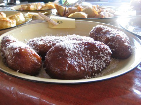 Koeksisters (South African donuts)  These are the Cape Malay