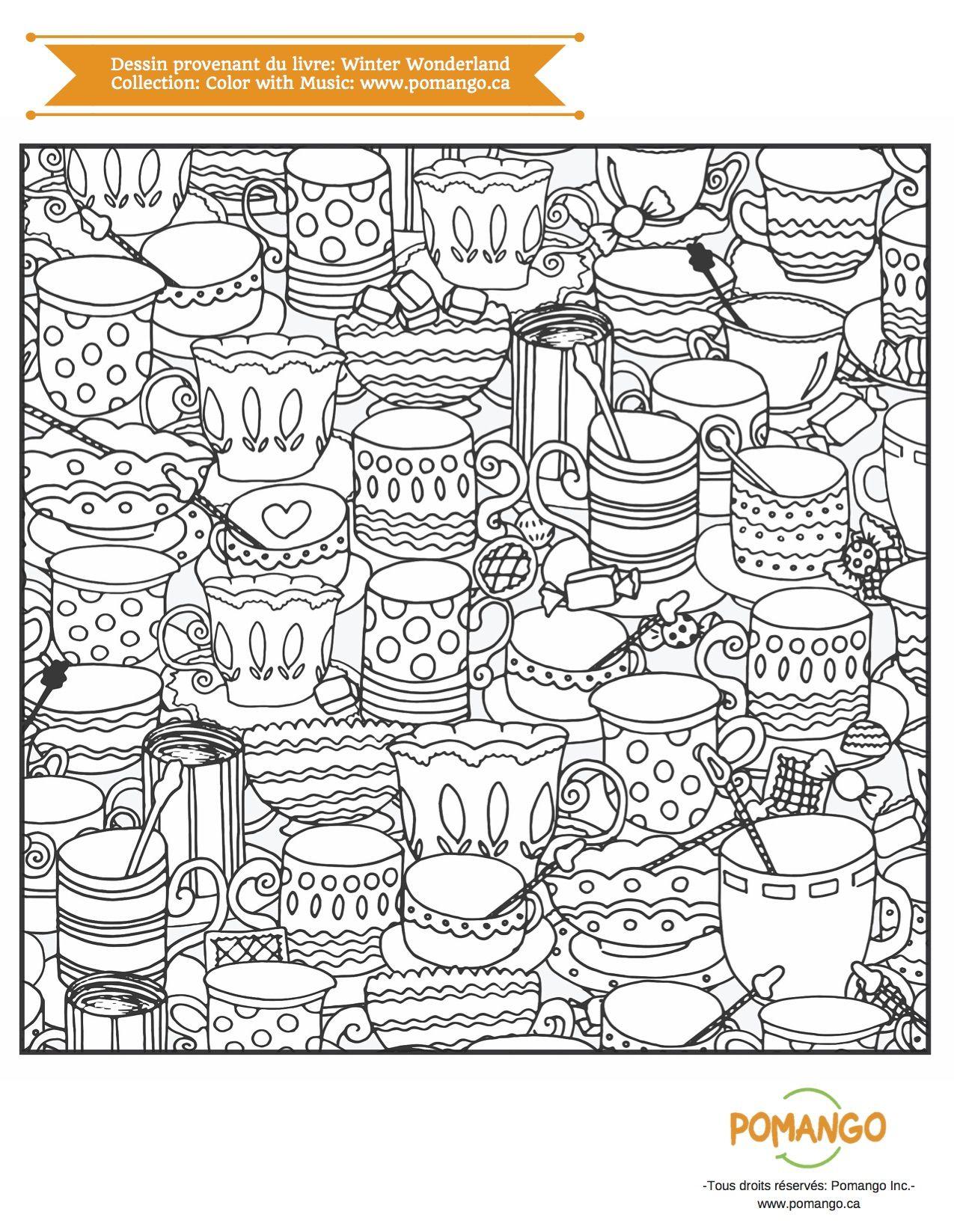 Livre  colorier pour adultes laissez vous inspirer par les magnifiques dessins détaillés illustrant de splendides paysages d hiver
