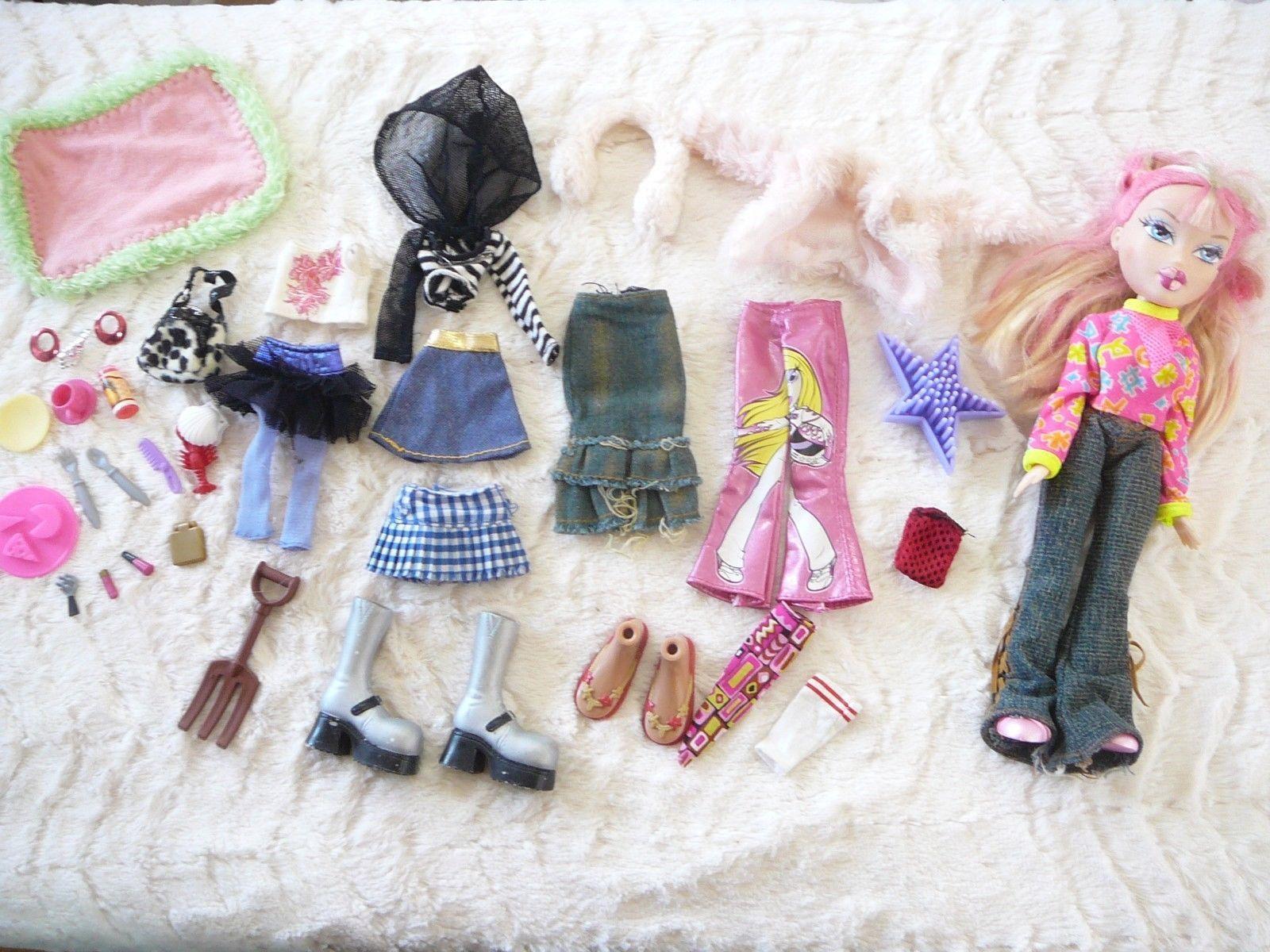 Bratz Doll Bulk Lot Clothes Shoes Accessories Pink Blonde