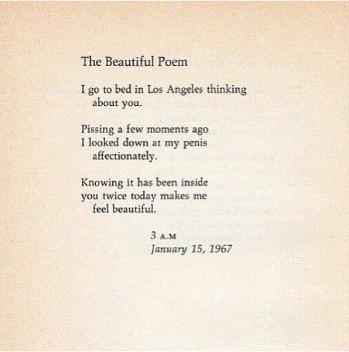 Richard Braurigan #beautifulpoem #poem #word