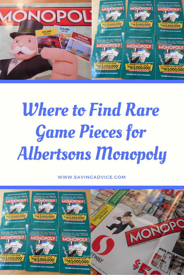 image about Albertsons Monopoly Game Board Printable identify In which in direction of Obtain Exceptional Recreation Areas for Albertsons Monopoly