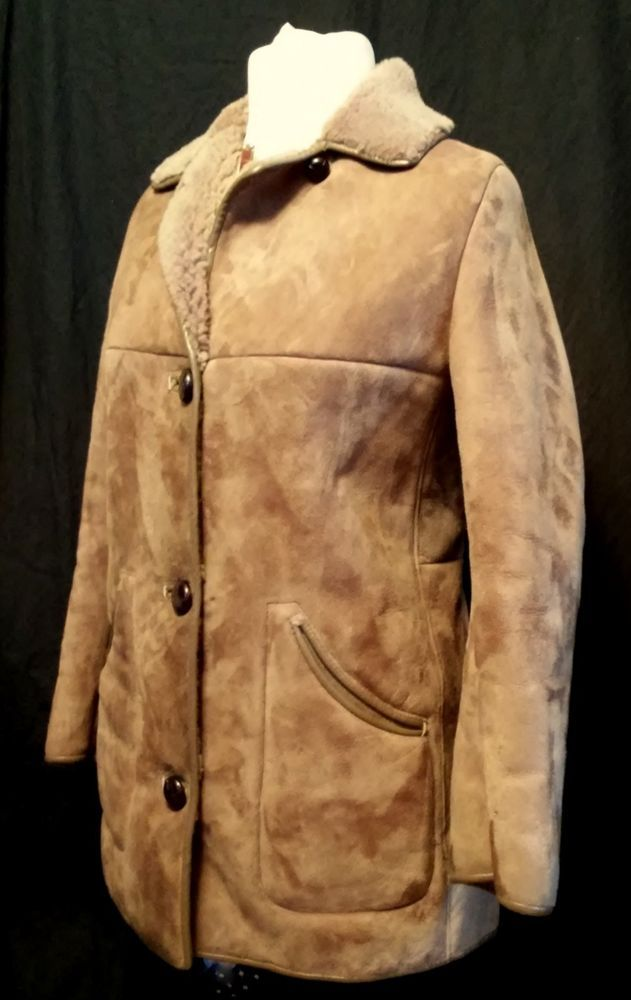 Women S Nursey S Sheepskin Product Coat Size 12 Coat Women Fashion