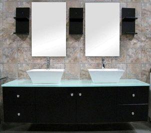 Top 7 Best Contemporary Bathroom Vanities Overstock Com Contemporary Bathroom Vanity Vessel Sink Vanity Double Sink Vanity