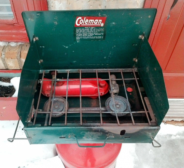 Coleman 2 Brûleur Dual Fuel Stove