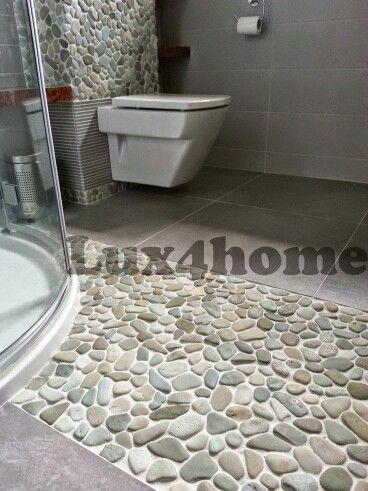 Banheiro Kieselmosaik Kieselfliesen Badezimmer Mosaik
