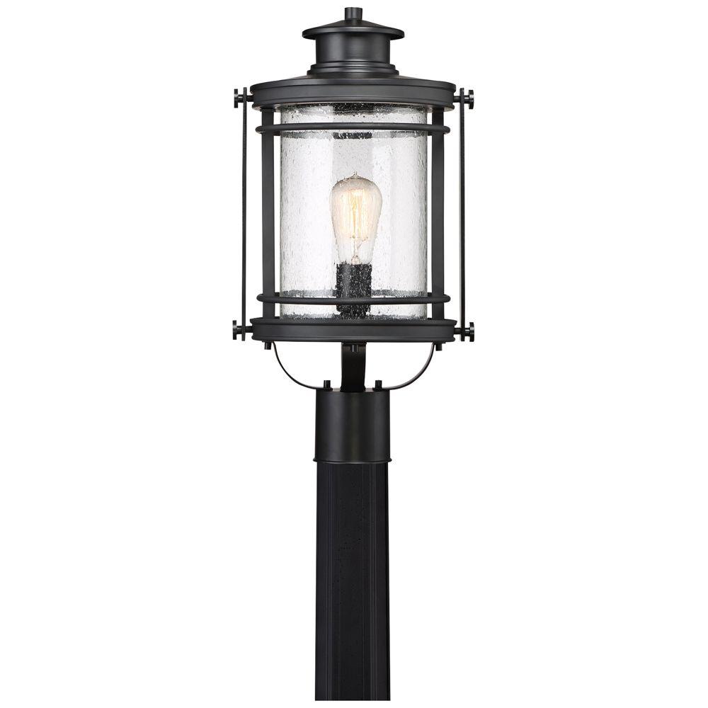 Quoizel Booker 19 1 2 High Mystic Black Outdoor Post Light 1p381 Lamps Plus Outdoor Post Lights Post Lights Lamp Post Lights