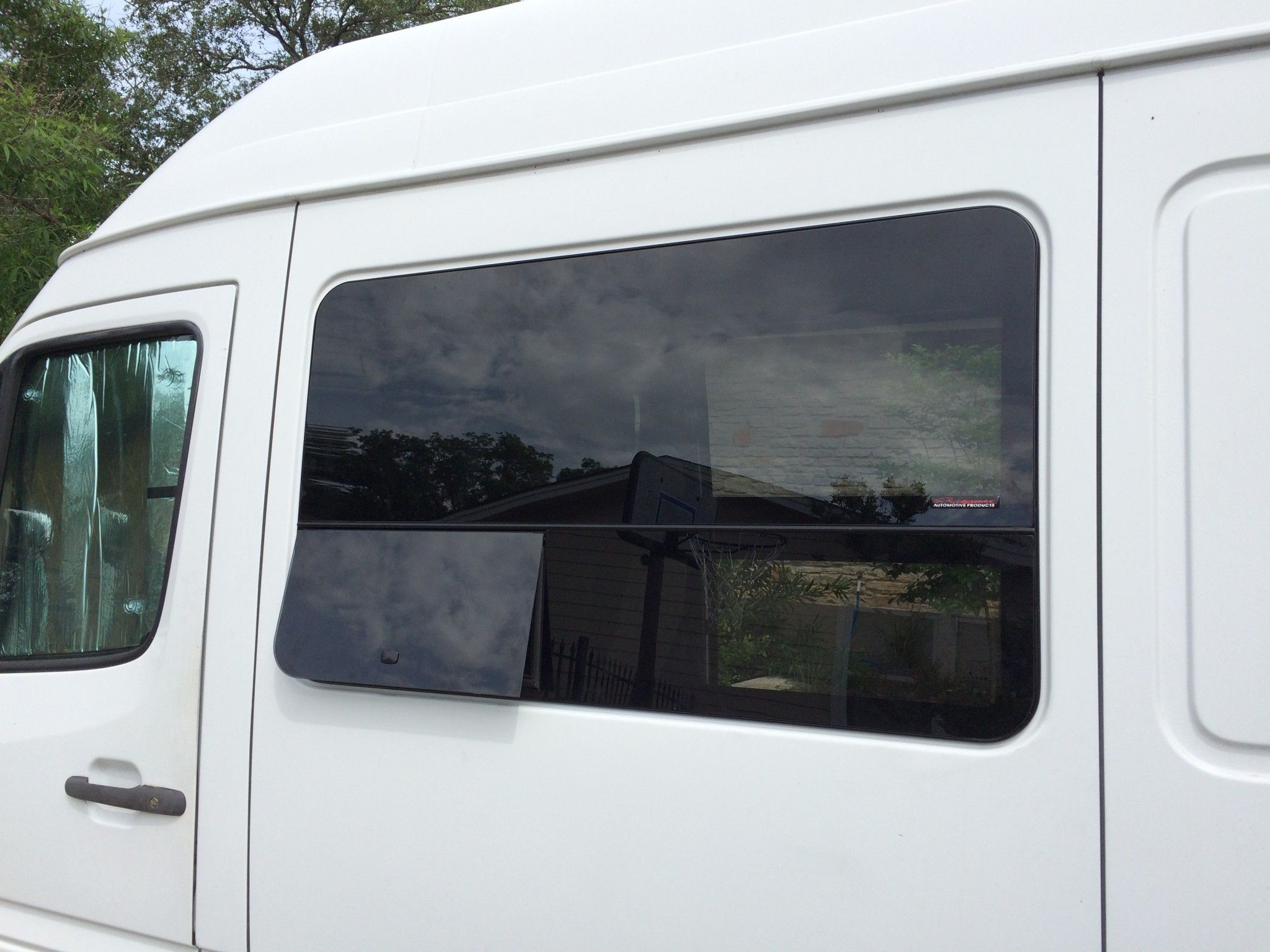 Installing C Laurence Windows In A Sprinter Van