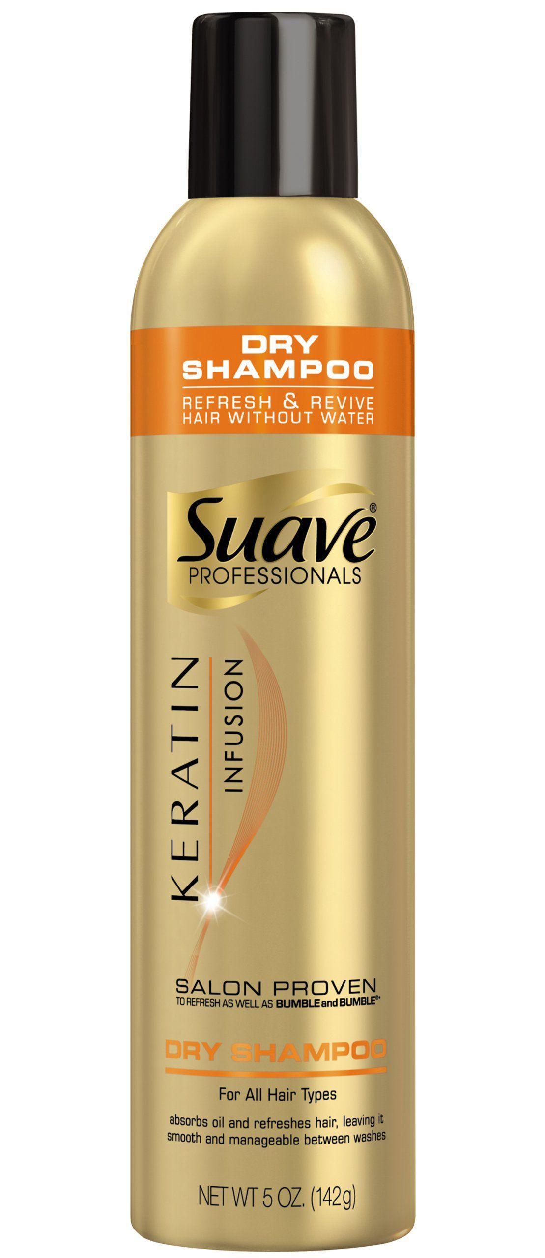 Suave Professionals Keratin Infusion Dry Shampoo, 5 Ounce