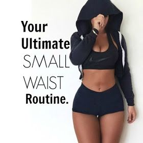 Relaxed Hair Health: Fit Friday | Your ultimate small waist routine.