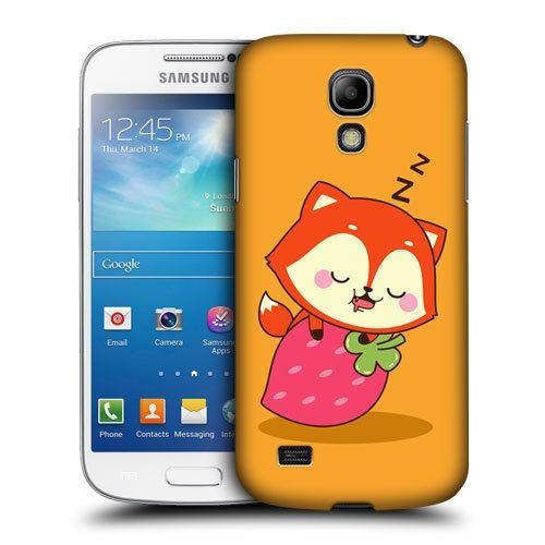 Head Case Sleep Kawaii Fox Flynn Case For Samsung Galaxy S4 Mini I9190 I9192 Samsung Galaxy S4 Samsung Galaxy S4 Mini Samsung Galaxy