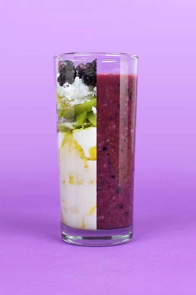 Powerful Purple Smoothie Recipe Smoothies Blueberry Juice Benefits Purple Smoothie