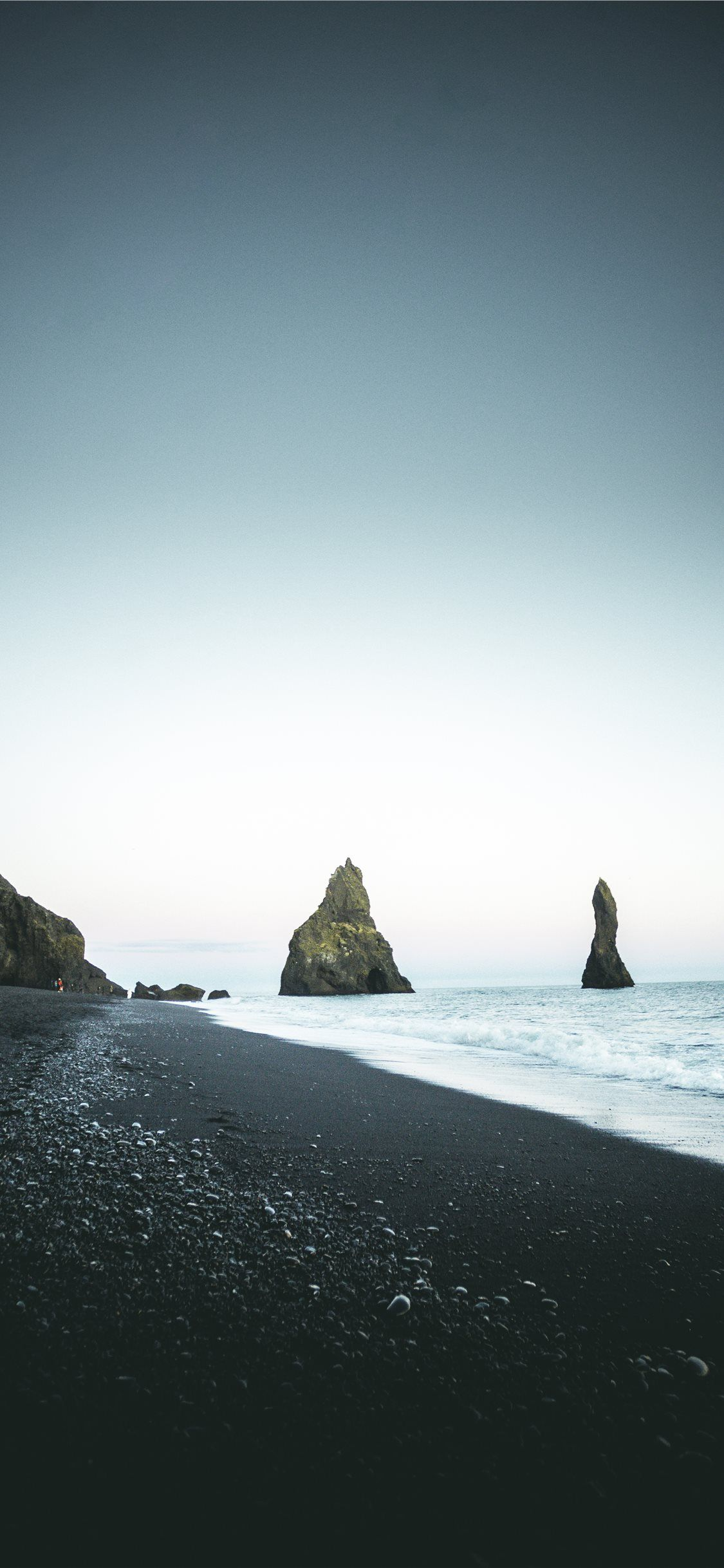 Vik Black Sand Shores, Vik, Iceland Iceland wallpaper