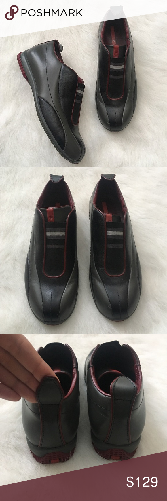 prada no lace shoes Shop Clothing