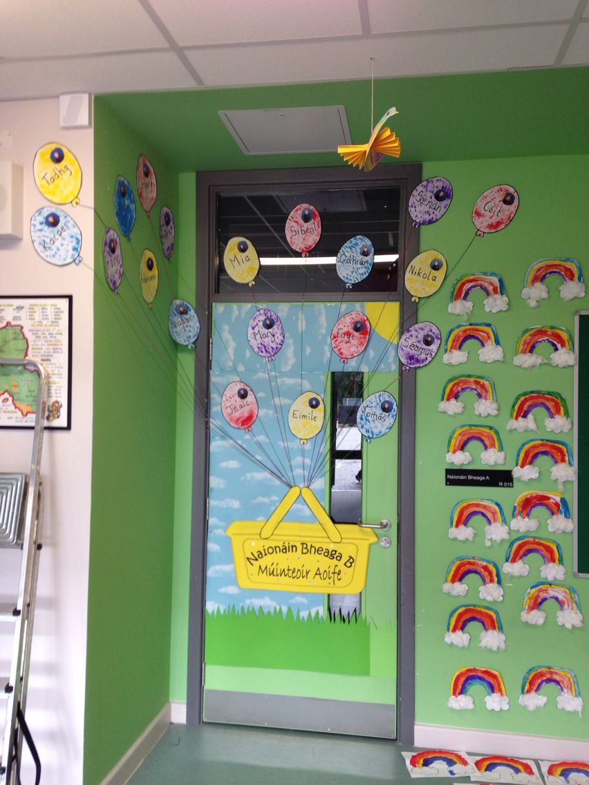 Classroom Ideas Display : Classroom door display junior infants pinterest