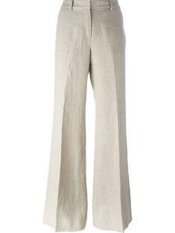 35ee97c871 Calça de linho cintura alta